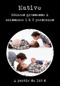 Future maman - photo de grossesse - souvenirs - photo de famille - Photographie - Portrait Lambersart - complicité - prise de vue studio - photo femme enceinte
